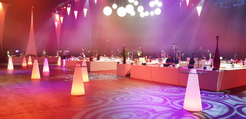 Bars Falcou Traiteur soirée Zénith Toulouse