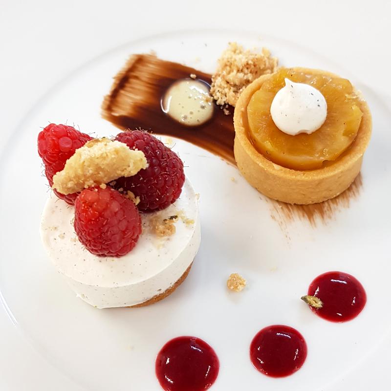 Assiette dessert Falcou Traiteur